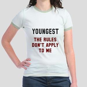 Oldest Middle Youngest Rules Jr. Ringer T-Shirt