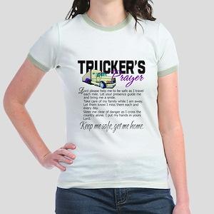 Trucker's Prayer Jr. Ringer T-Shirt