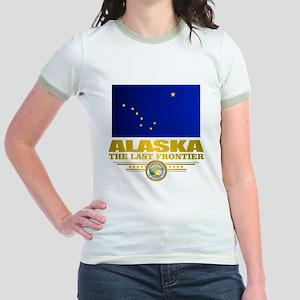 Alaska Pride Jr. Ringer T-Shirt