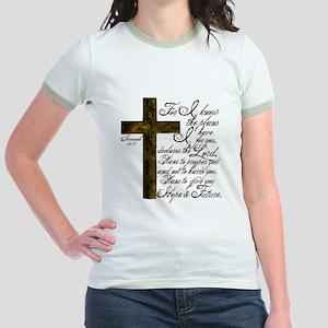 Plan of God Jeremiah 29:11 Jr. Ringer T-Shirt