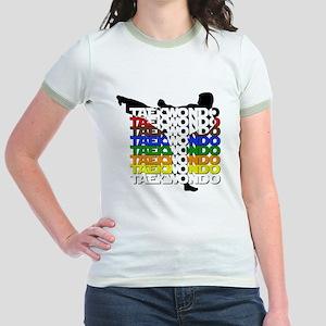 ColorsOfTKD Jr. Ringer T-Shirt
