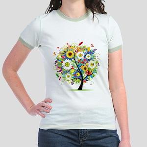 summer tree Jr. Ringer T-Shirt