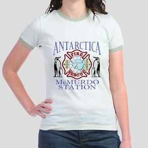 CPAntarPenColor Jr. Ringer T-Shirt