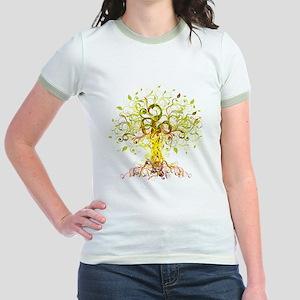 Tree Art Jr. Ringer T-Shirt
