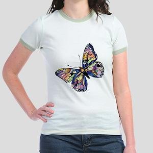 Exotic Butterfly Jr. Ringer T-Shirt