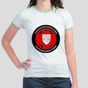 Combat Service Support Group -  Jr. Ringer T-Shirt