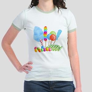 candy circus boy-  Jr. Ringer T-Shirt