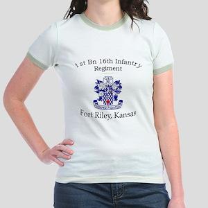 1st Bn 16th Inf Jr. Ringer T-Shirt