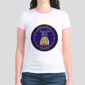 AFJROTC LOGO CIRCLE Jr. Ringer T-Shirt
