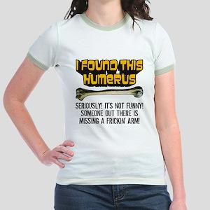 Its Not Funny! Jr. Ringer T-Shirt
