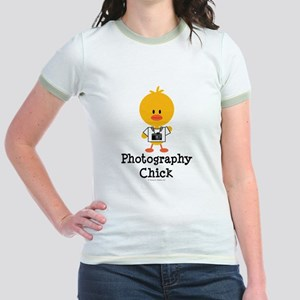 Photography Chick Jr. Ringer T-Shirt