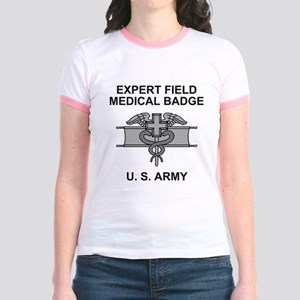 Army-Expert-Field-Medical-Badge Jr. Ringer T-Shirt