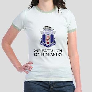 ARNG-127th-Infantry-Shirt-3 Jr. Ringer T-Shirt