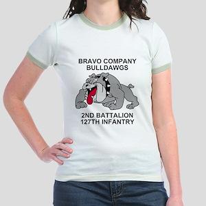 ARNG-127th-Infantry-B-Co-Shirt- Jr. Ringer T-Shirt