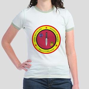 SSI-7TH MARINE RGT-3RD BN Jr. Ringer T-Shirt