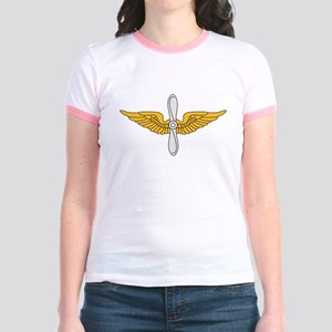 Aviation Branch Insignia Jr. Ringer T-Shirt