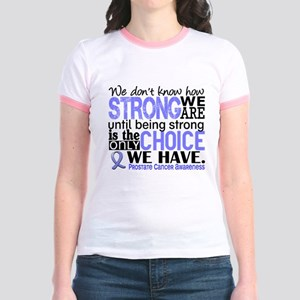 Prostate Cancer HowStrongWeAre Jr. Ringer T-Shirt