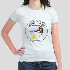 Scruffys Scrub Spot Jr. Ringer T-Shirt