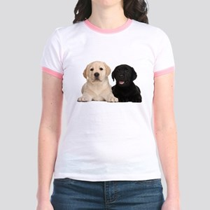 Labrador puppies Jr. Ringer T-Shirt