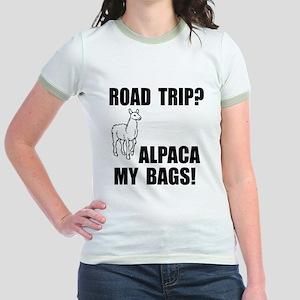 Alpaca My Bags! Jr. Ringer T-Shirt