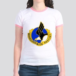 Army-101st-Airborne-Div-DUI-Bon Jr. Ringer T-Shirt