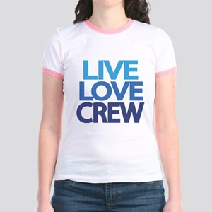 live-love-crew Jr. Ringer T-Shirt