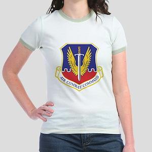 USAF Air Combat Command Jr. Ringer T-Shirt