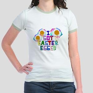 I Got Easter Egged Jr. Ringer T-Shirt