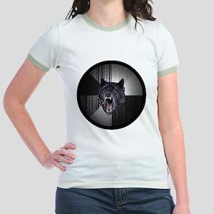 Insanity Wolf Circle Jr. Ringer T-Shirt