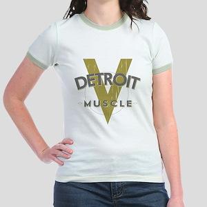 Detroit Muscle copy Jr. Ringer T-Shirt
