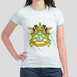 God Save the Queen Jr. Ringer T-Shirt