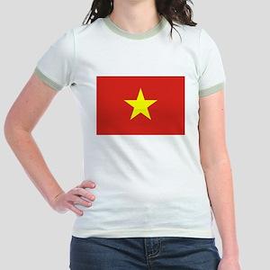 Flag of Vietnam Jr. Ringer T-Shirt