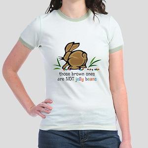 Brown Jelly Beans Jr. Ringer T-Shirt