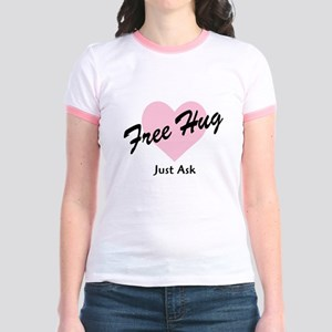 Free Hug Jr. Ringer T-Shirt