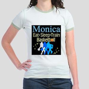PLAY BASKETBALL Jr. Ringer T-Shirt