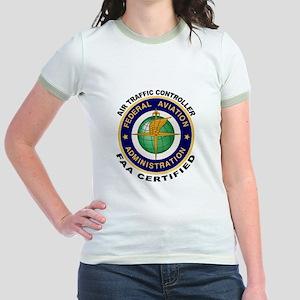 Air Traffic Controller Jr. Ringer T-Shirt