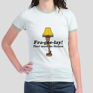 Fra-gee-lay! Leg Lamp Jr. Ringer T-Shirt