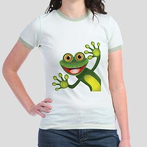 Happy Green Frog T-Shirt