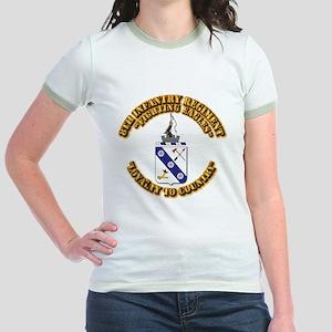 COA - 8th Infantry Regiment Jr. Ringer T-Shirt