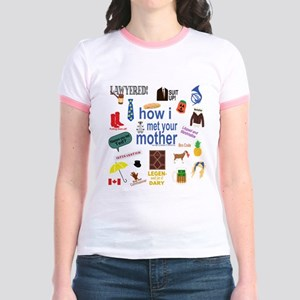 HIMYM Symbol Collage T-Shirt