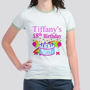 PERSONALIZED 18TH Jr. Ringer T-Shirt