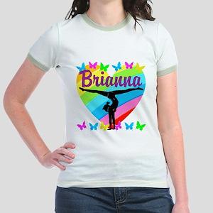 PERSONALIZE GYMNAST Jr. Ringer T-Shirt