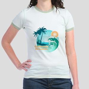 California Dreamin Jr. Ringer T-Shirt