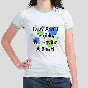 circles_twosarentterrible Jr. Ringer T-Shirt