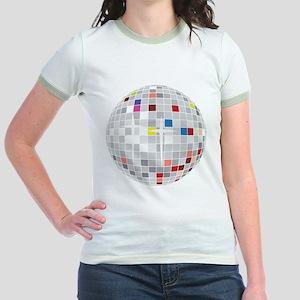 disco ball Jr. Ringer T-Shirt