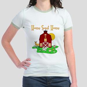 Scott Designs Farm Life Jr. Ringer T-Shirt