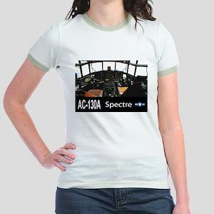 C-130 SPECTRE GUNSHIP Jr. Ringer T-Shirt