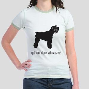 Minature Schnauzer Jr. Ringer T-Shirt