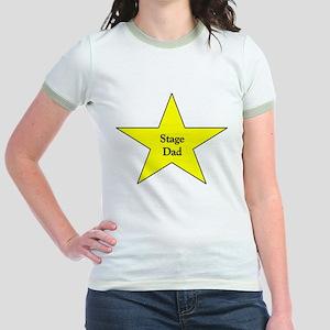 Proud Stage Dad Jr. Ringer T-Shirt