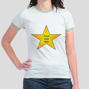 Proud Stage Mom Jr. Ringer T-Shirt
